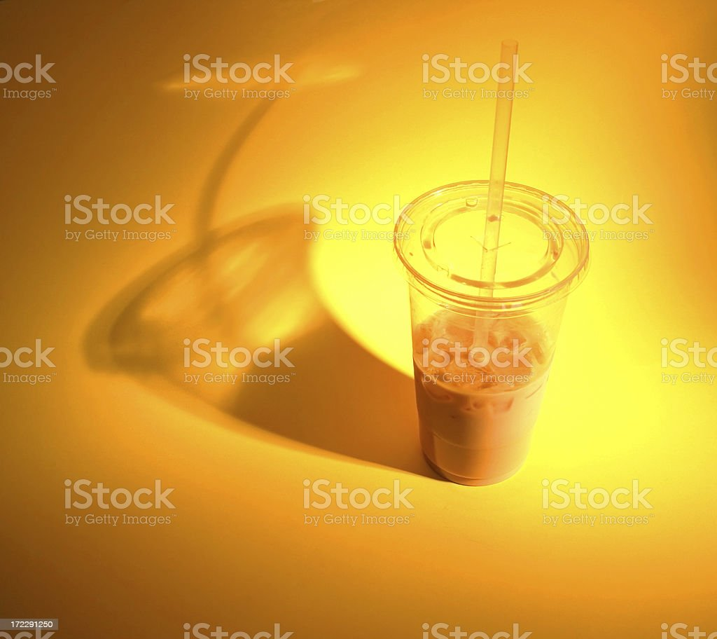 Dramatic Iced Drink royalty-free stock photo