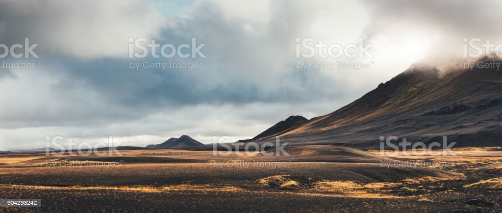 Dramatic Landscape In Iceland stock photo
