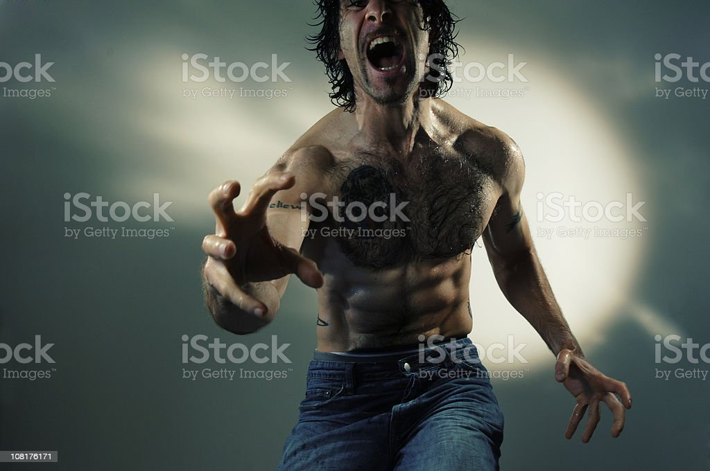 dramatic man series royalty-free stock photo