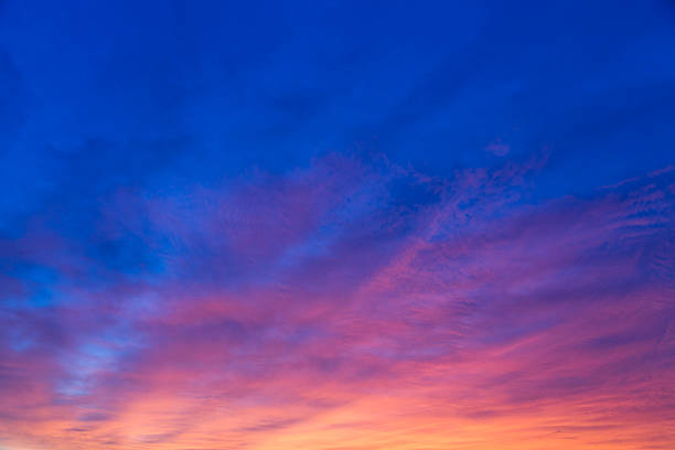 dramatic morning sky - twilight stock pictures, royalty-free photos & images