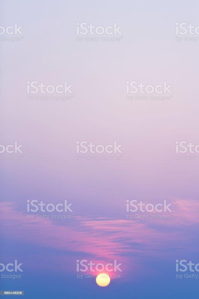 Dramatic Morning Sky foto de stock royalty-free