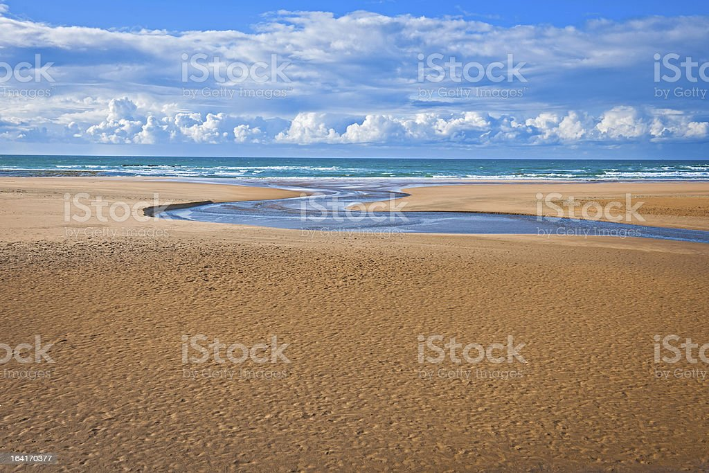 Dramatic Moroccan Coast near Rabat Africa royalty-free stock photo