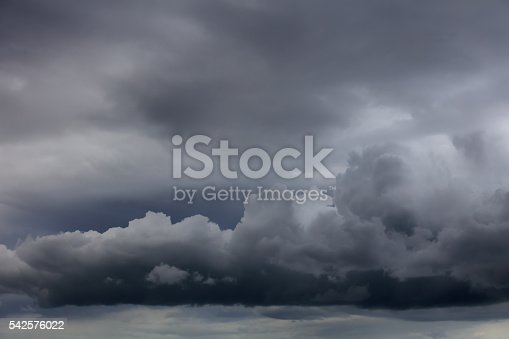 istock Dramatic ominous sky 542576022