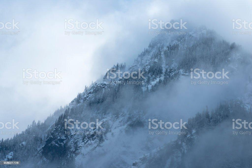 Dramatic Peak stock photo