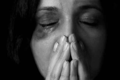 Häusliche Gewalt Opfer Stockfoto und mehr Bilder von Angst