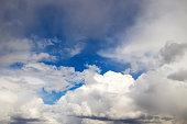 Dramatic rain cloud background