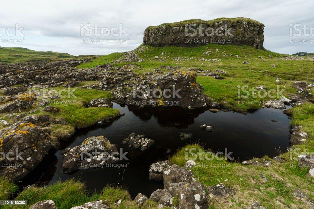 Una Característica De Roca Espectacular Y Un Pequeño