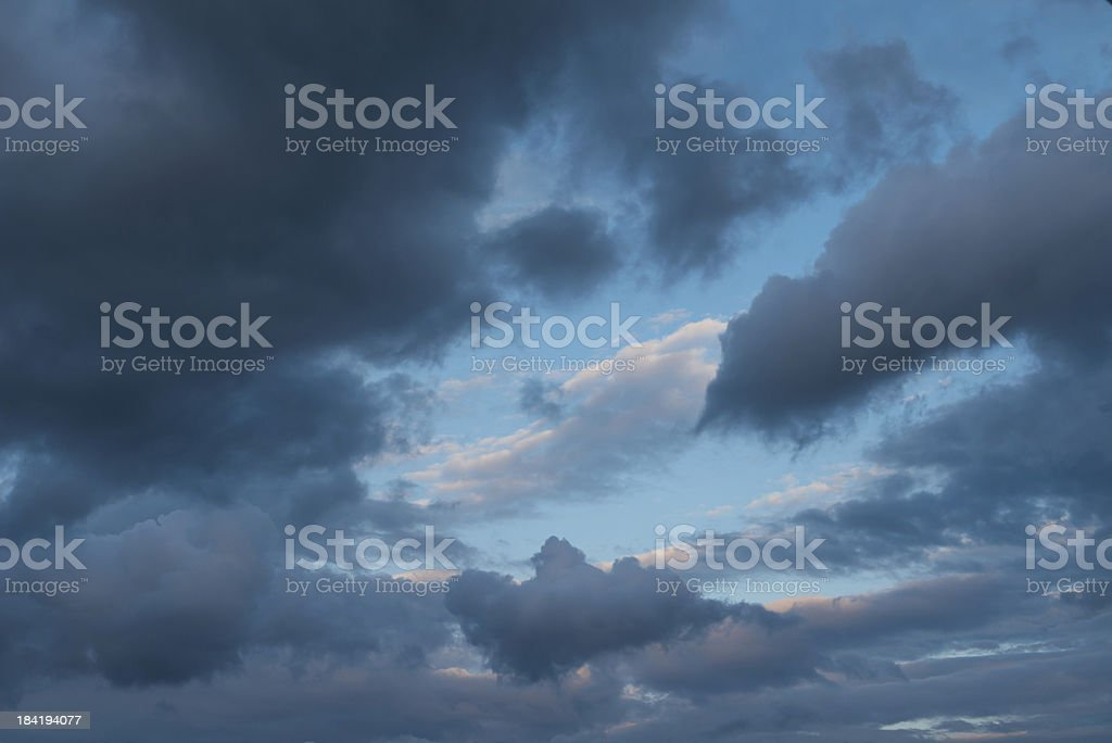 Dramatic skies stock photo