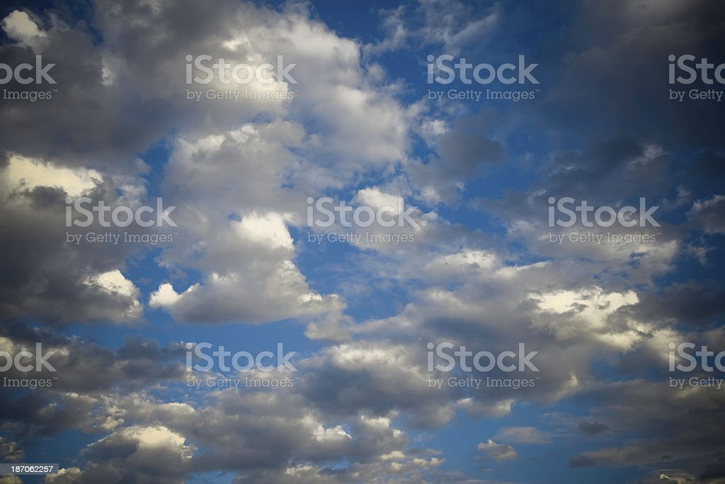 Dramatic Sky Background royalty-free stock photo