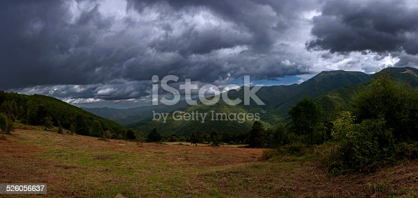 157673091istockphoto Dramatic sky in Balkan Mountain, Bulgaria 526056637