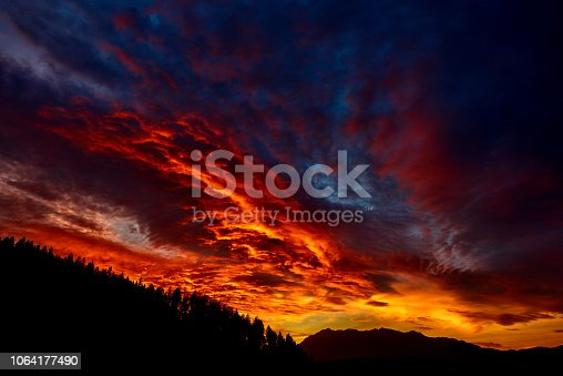 1013154212istockphoto dramatic sky in the twilight 1064177490