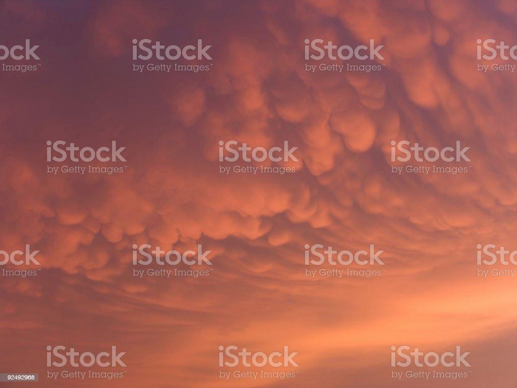 Dramatic Sky - landscape royalty-free stock photo