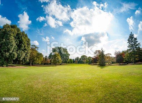 Public Park In Cheltenham, United Kingdom