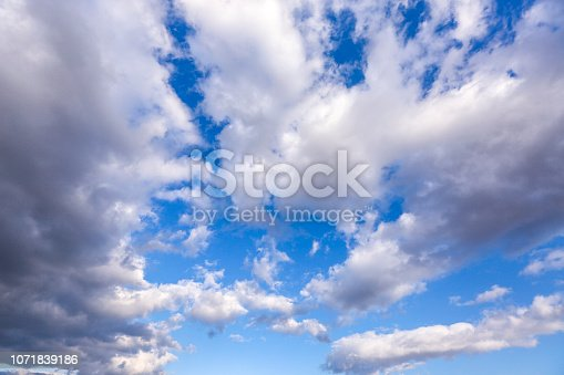 istock Dramatic sky 1071839186
