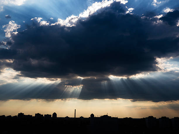 Ciel menaçant - Photo