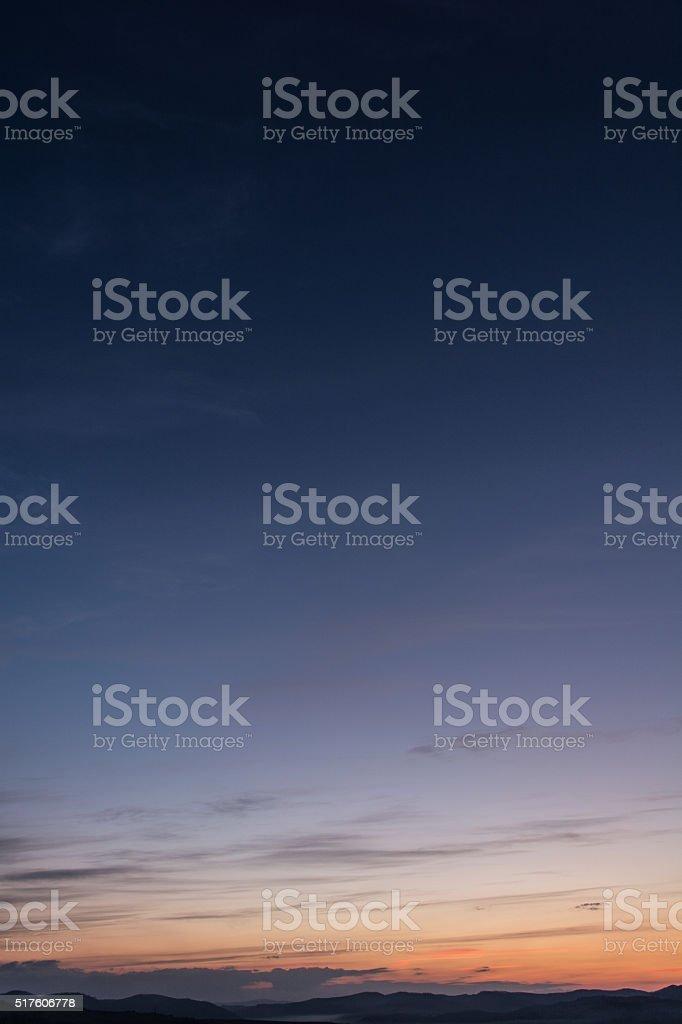 Cielo dramático - foto de stock