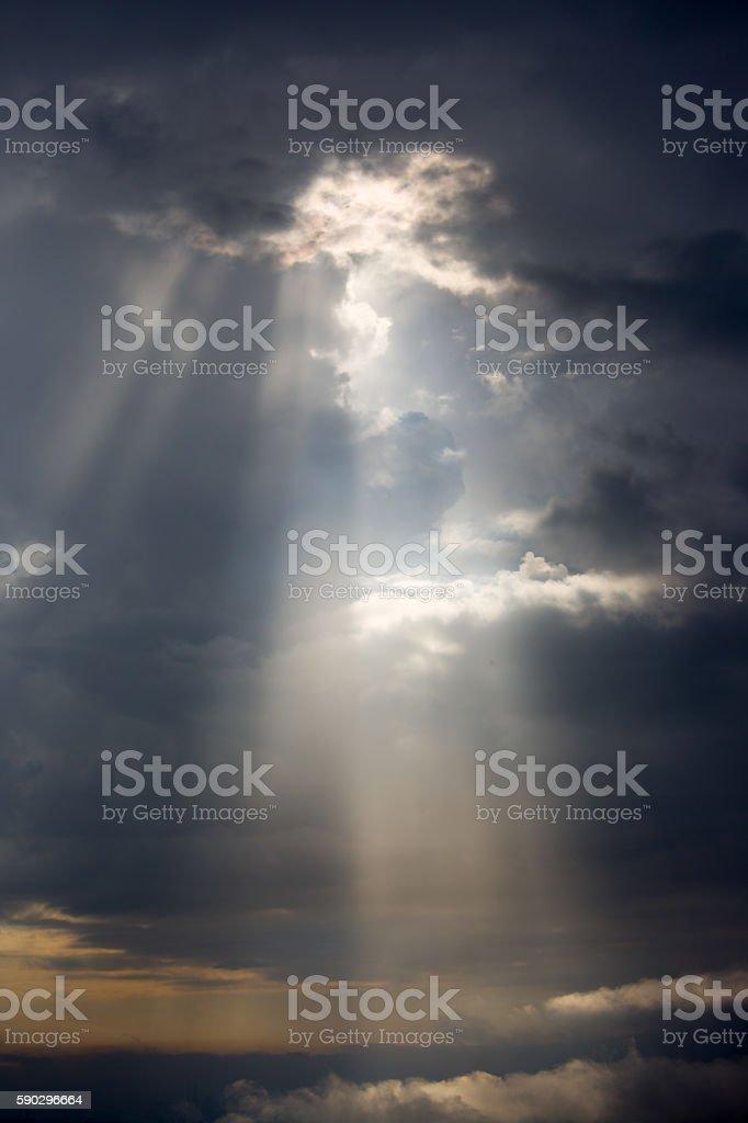 Dramatic sky royaltyfri bildbanksbilder