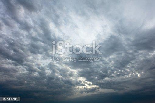istock Dramatic sky 907512542