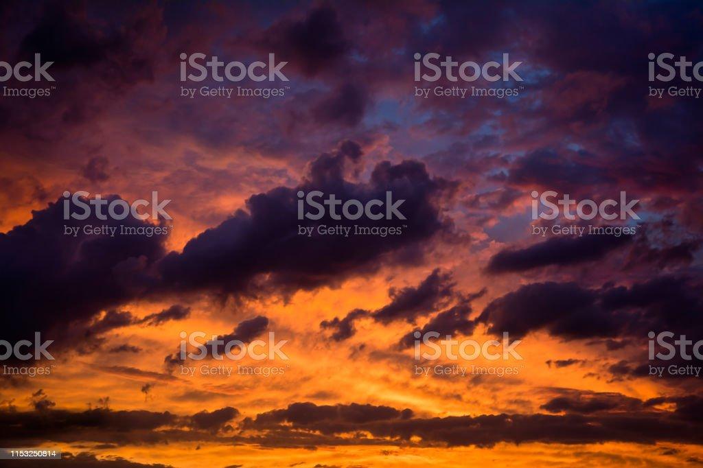 Landscape , cloudscape