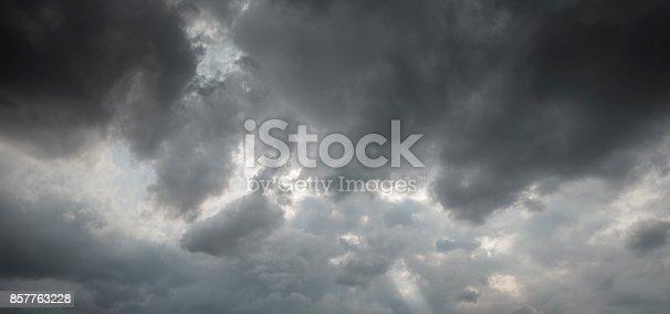 1089986346 istock photo dramatic sky with dark clouds 857763228