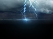 Dramatic sky - digitally manipulated image