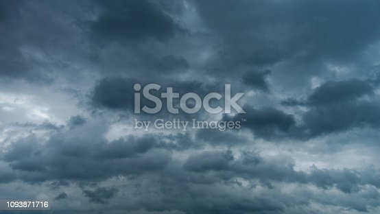 istock Dramatic sky with storm clouds 1093871716