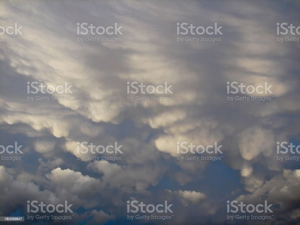 dramatic sky with storm clouds royalty-free stock photo