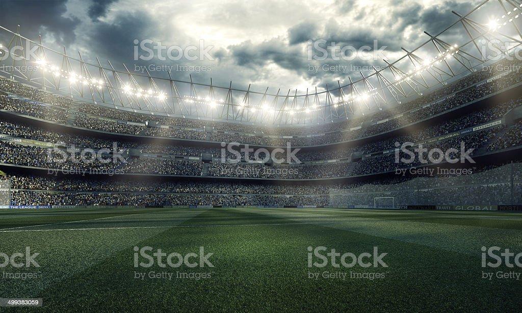 Beeindruckende Fußballstadion – Foto