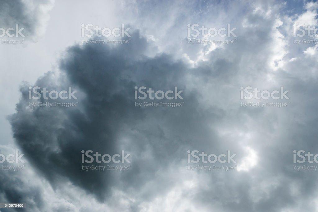 Dramatic Summer Cloudscape stock photo