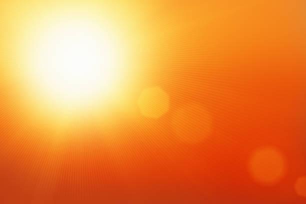 espectacular sunburst con espacio para texto - calor fotografías e imágenes de stock