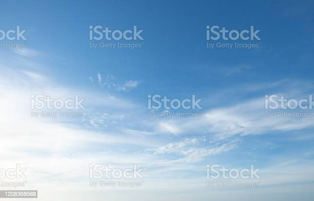 Photo of dramatic sunset and sunrise sky nature background with white clouds