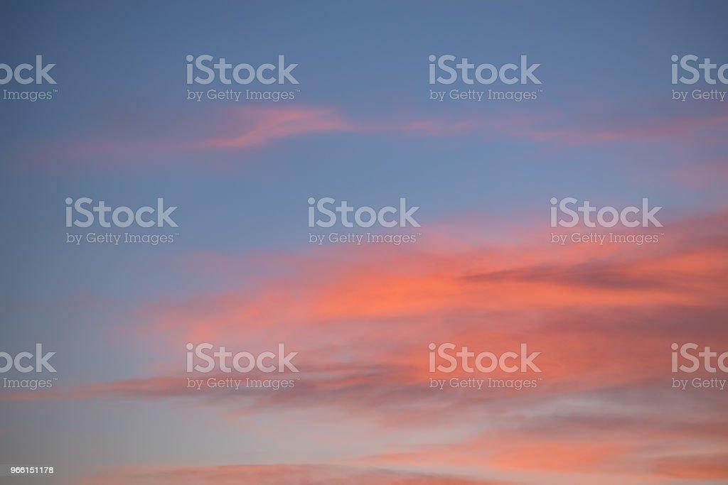 Dramatischen Sonnenuntergang und Sonnenaufgang Himmel mit rosa Wolken - Lizenzfrei Abenddämmerung Stock-Foto