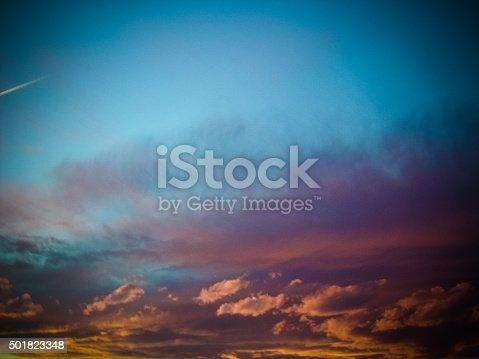 529114076 istock photo Dramatic sunset 501823348