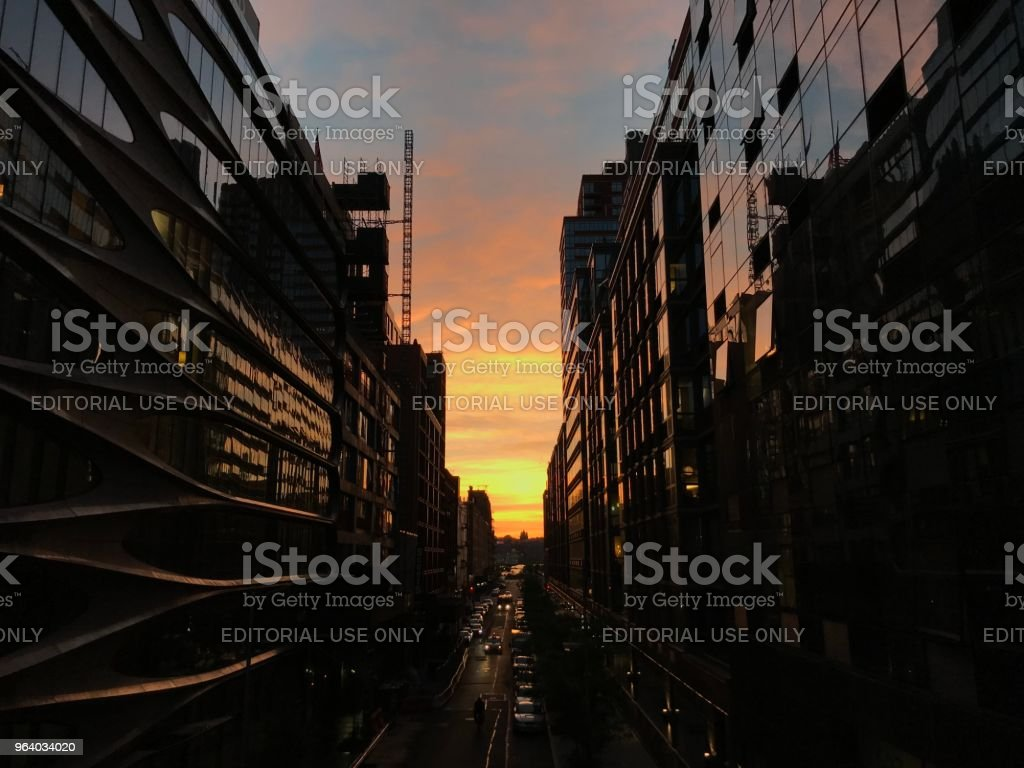 Dramatic sunset - Royalty-free Architecture Stock Photo