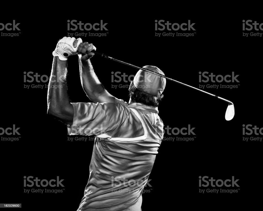 Dramatic Swing stock photo