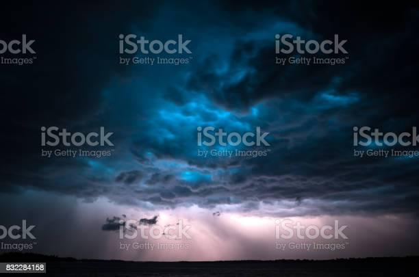 Photo of Dramatic thunderstorm.