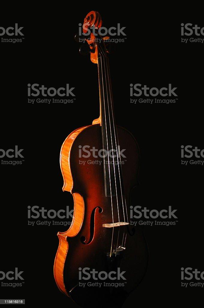 dramatic violin royalty-free stock photo