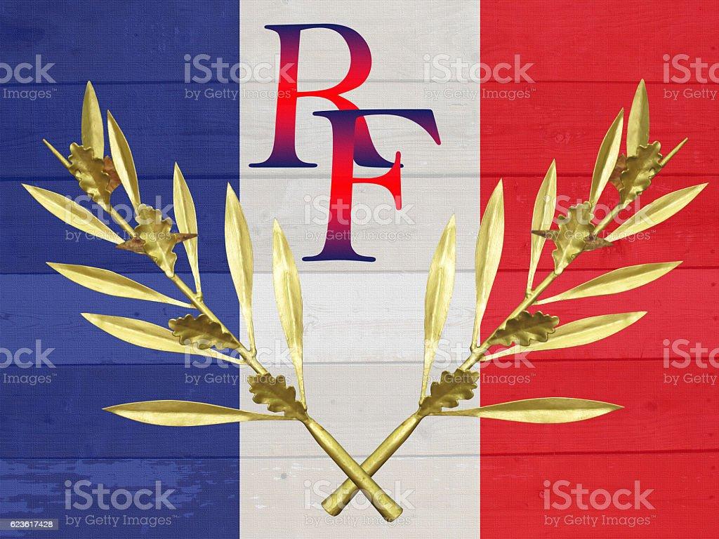 Drapeau Français République Française Foto De Stock Y Más