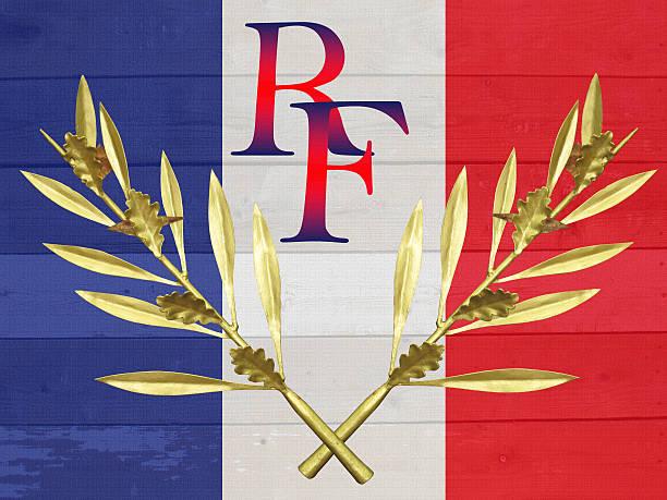 drapeau français - république française - république photos et images de collection