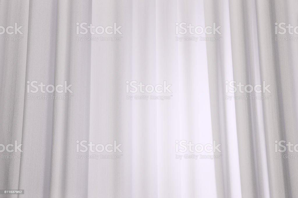 Tende Di Lino Bianche.Tende Tessuto In Tessuto Di Lino Bianco Fotografie Stock E Altre