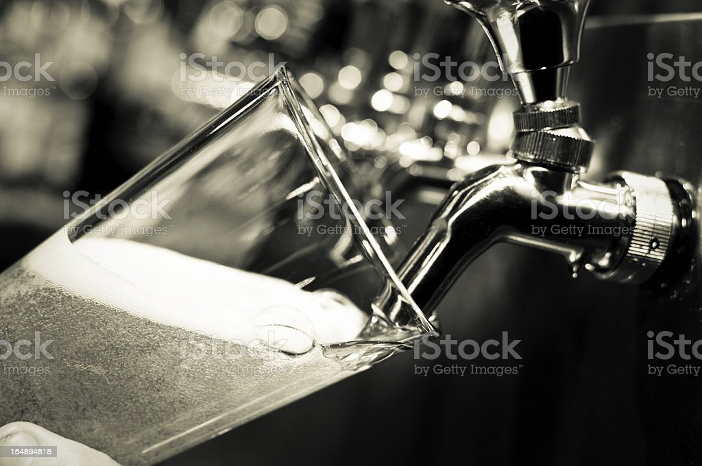 Draught Beer stock photo