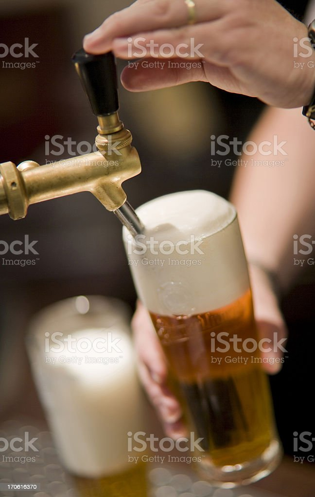 draught beer royalty-free stock photo