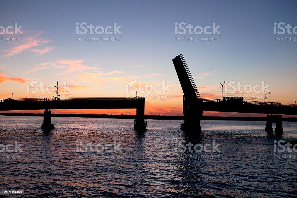 Draw Bridge royalty-free stock photo