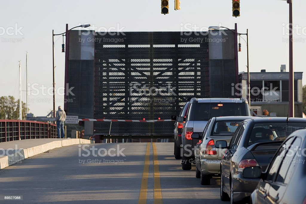 Drawbridge royalty-free stock photo