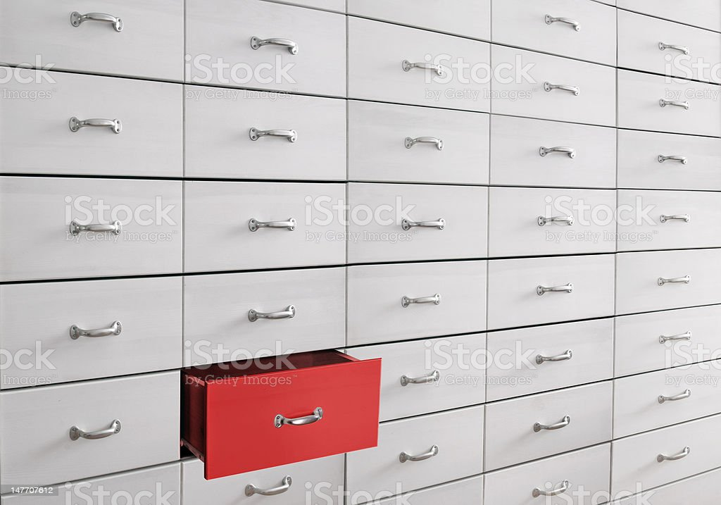drawers royalty-free stock photo