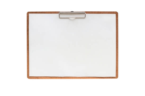 drawing board ,isolated on white background with clipping path. stock photo