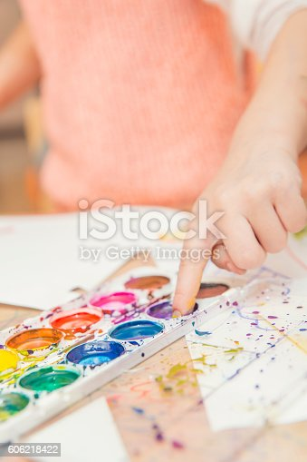 istock drawing by paints 606218422