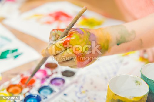 istock drawing by paints 606218482