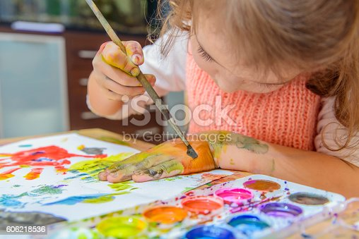 istock drawing by paints 606218536