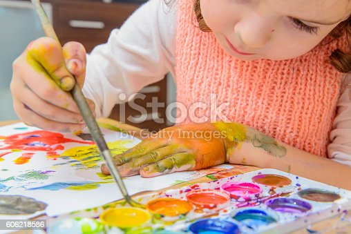 istock drawing by paints 606218586